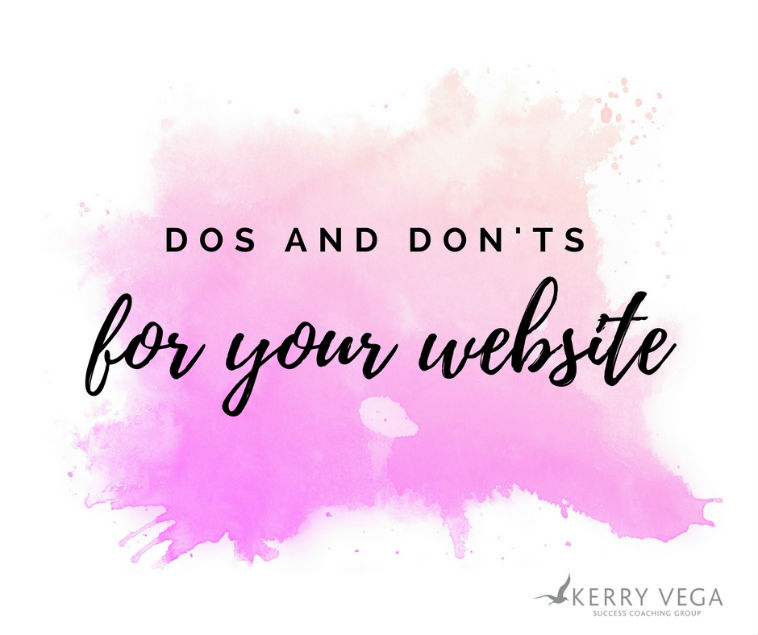 Dos And Don'ts For Your Private Practice Website